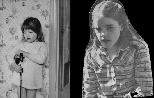 The Brooding Child: Two Found Photographs
